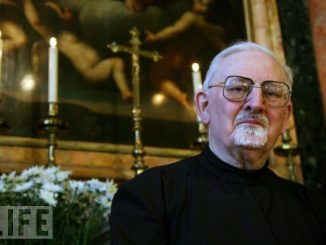 Pater Peter Hans Kolvenbach SJ. [ameblo.jp]