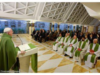 Paus Fransiskus di Casa Santa Marta   (Foto: L'Osservatore Romano)