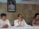 Mgr Ignatius Suharyo, Mgr Antonius Bunjamin OSC dan Romo Guido Suprapto dalam Konferensi Pers (Yusti H. Wuarmanuk)