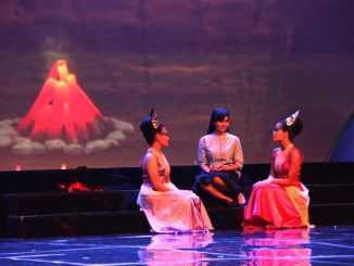 "Karmelita memerankan Suster Kirana dalam ""Sapta Kirana Bagi Nusantara"" (HIDUP/Antonius E Sugiyanto)"