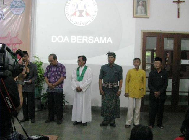 Temu Nasional Lintas Iman dan Budaya di Rumah Retret Panti Semedi Sangkalputung, Klaten, Jawa Tengah. (Dok. FB Panti Semedi Rumah Retret)