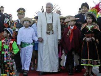 Kunjungan Apostolik Paus Fransiskus ke Bolivia (Foto: www.ndiancountrytodaymedianetwork.com)