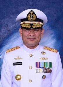 Wakasal Laksamana Madya TNI Arie Henrycus Sembiring (Dok. Wikipedia.org)