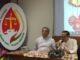 Mgr Ignatius Suharyo dalam Konferensi pers di Gedung karya Pastoral KAJ