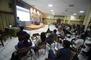 Pengenalan Media Sosial untuk Peserta Komsos KAJ. Dok.HIDUP/A.Aditya Mahendra