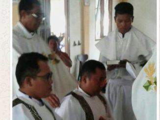 Dua Frater yang ditabiskan menjadi Diakon-dok pribadi