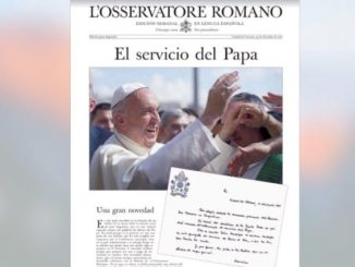Terbitan perdana L'Osservatore Romano Argentina. (zenit.org)