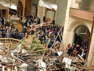 Misa Natal di Katedral St Elias di Aleppo, Suriah.[i0.wp.com]