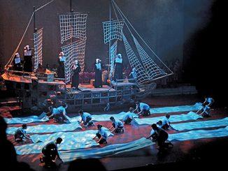 Drama musikal perayaan 160 tahun Ordo Santa Ursula berkarya di Indonesia.[HIDUP/A.Aditya Mahendra]