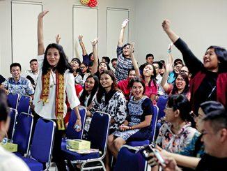 Pertemuan Komisi Komsos, Kepemudaan, dan Majalah HIDUP dengan perwakilan orang muda se-KAJ.[HIDUP/A. Aditya Mahendra]