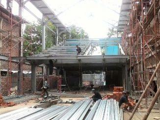 Renovasi Gedung Gereja St Maria Tak Bernoda Rangkasbitung-Dok. pribadi