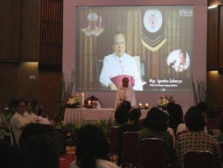 Mgr Suharyo memimpin Misa Natal KAKA STAN dan BKSY [HIDUP/Maria Pertiwi]
