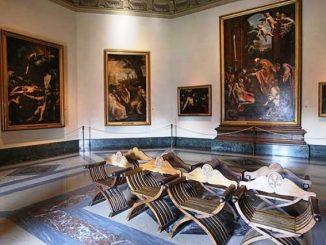 Sebagian karya lukisan yang dipamerkan dalam Museum Vatikan (www.overome.com)