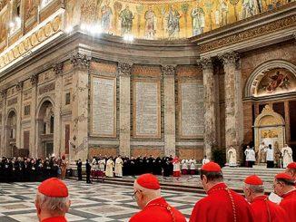 Suasana Vesper penutupan Pekan Doa Sedunia.[L'ossevatore Romano]      @Servizio Fotografico - L'Osservatore Romano