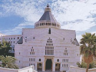 Basilika St Maria Menerima Kabar Gembira, Nazareth, Tanah Suci.[stananthony.org]