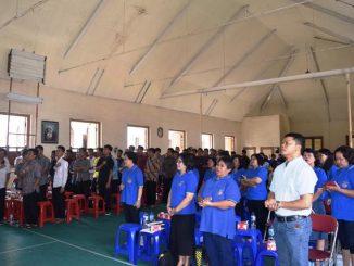 WKRI Paroki Keluarga Kudus Cibinong saat berkunjung ke Seminari Stella Maris Bogor/Anggit