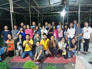 Kaum Muda Katolik Paroki Hati Kudus Yesus Pangkalan Kerinci, Riau/ dok. Pribadi