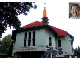 Katedral Keuskupan Agung Semarang dan Insert Mgr Robertus Rubiyatmoko