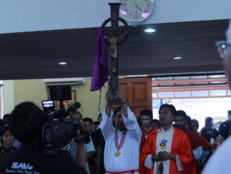 Ibadat Jumat Agung di Paroki Kampung Sawah