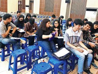 OMK Bogor peserta seleksi AYD.[HIDUP/Aloisius Johnsis]