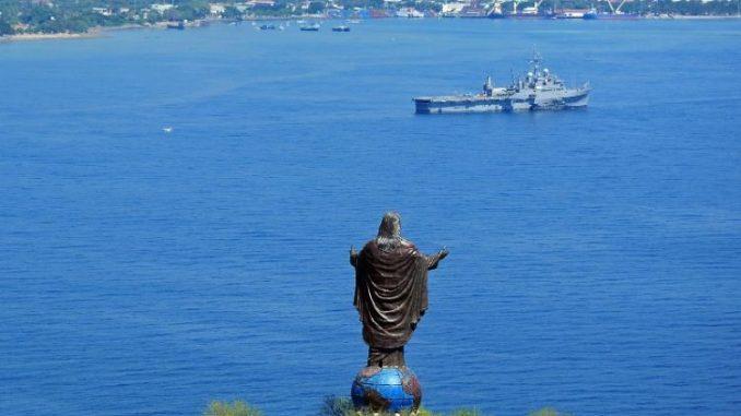 Patung Kristus Raja di Dili Timor Leste