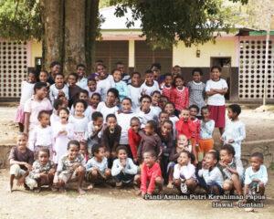 Panti Asuhan Putri Kerahiman Hawai Sentani Papua