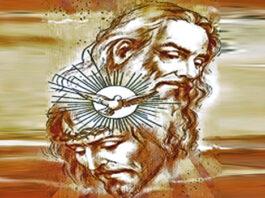 87 Gambar Allah Tritunggal Mahakudus