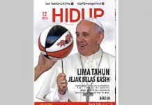 COVER MAJALAH HIDUP EDISI 12 TAHUN 2018